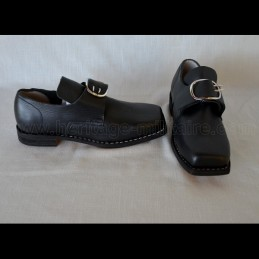 Shoes XVIIIth century men with buckles