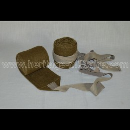 Bands calf France WWII (the pair)