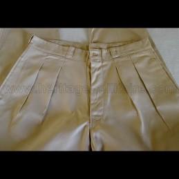 Pantalon militaire Français colonial WWII