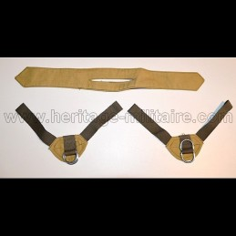 Fastener and chin strap for helmet USM1 French Para Indochine