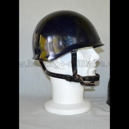 "French gendarmerie helmet mod 1968 ""original"" used"