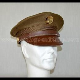 Casquette de soldat US OD green WWII