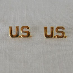Insignes de col officier US  WWII