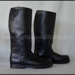 US police biker boots