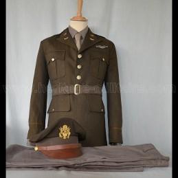 Full dress uniform US officer WWII