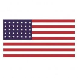 "USA flag 48 stars ""1912 - 1959"" Polyester"