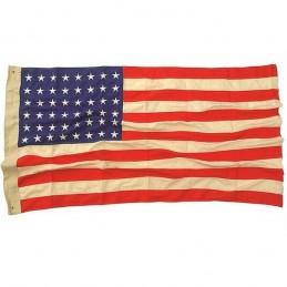 Drapeau USA 48 étoiles  COTON WWII