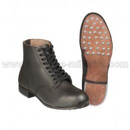 Brogan German Infantry black leather WWII