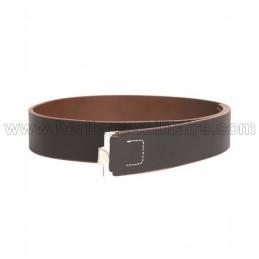 Infantry leather belt German WWII