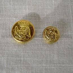 Bouton Aigle de la Garde Impériale Napooléon 1er France