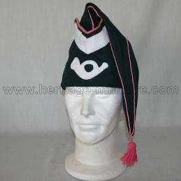 Bonnet de police troupe Chasseur Napoléon 1er