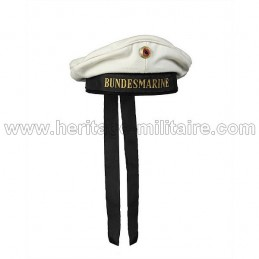 Casquette de marin Allemand blanche