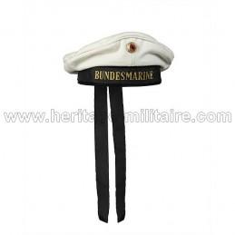 German marine Cap white
