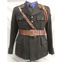 WWII French officer tunic,...