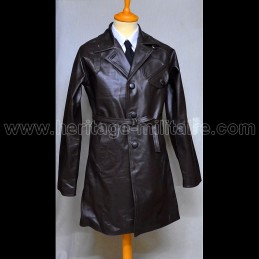 French pilot leather jacket...