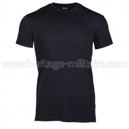 Tee-shirt 100% coton noir