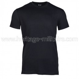 Tee-shirt 100% cotton black