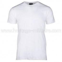 Tee-shirt 100% coton blanc