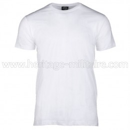 Tee-shirt 100% cotton white