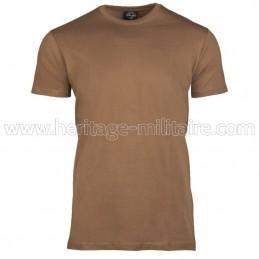 Tee-shirt 100% coton BDU brown