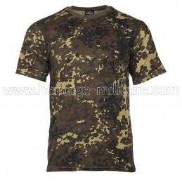 Tee-shirt 100% coton flecktarn