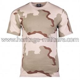 Tee-shirt 100% coton désert...