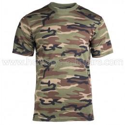 Tee-shirt 100% cotton woodland