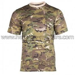 Tee-shirt 100% coton multitarn