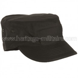 US BDU field cap black
