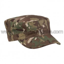 US BDU field cap multitarn
