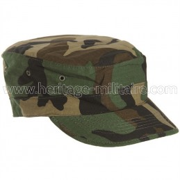 US BDU field cap woodland