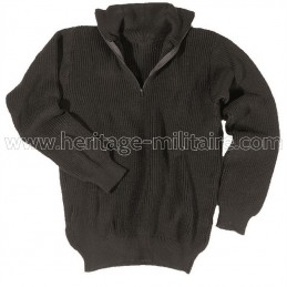 Troyer sweater acrylic black