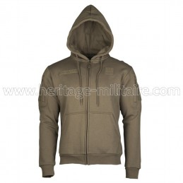 Tactical hoodie OD green