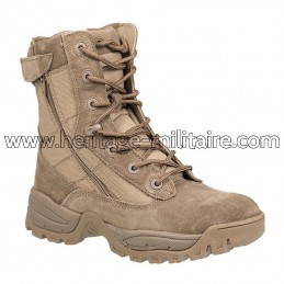 Tactical boots 2 zips dark...