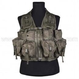 Tactical vest 9 pockets OD...