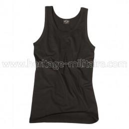 Tank top 100% cotton black
