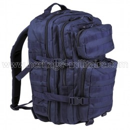US assault backpack navy blue