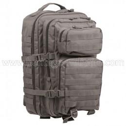 US assault backpack urban grey