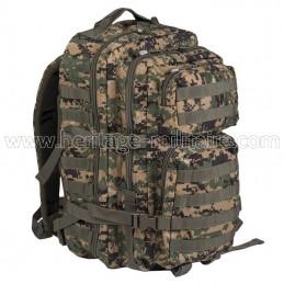 US assault backpack digital...