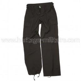 Pantalon US BDU femme noir
