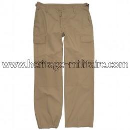 Pantalon US BDU femme sable