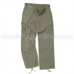 Pantalon US BDU femme vert...