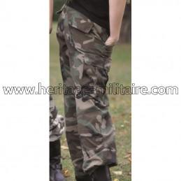 Pantalon US BDU femme woodland