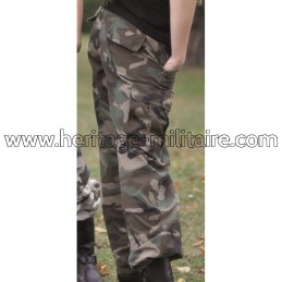 US BDU pants women woodland