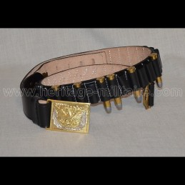 Cavalry belt with caliber...