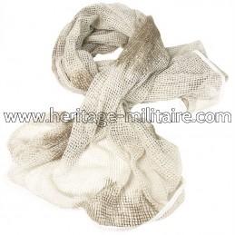 Net scarf snow camo