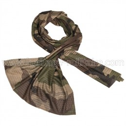 Mesh scarf french camo CCE