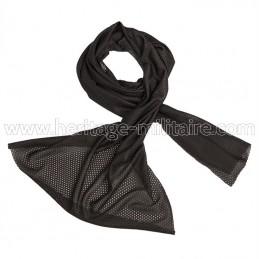 Mesh scarf black