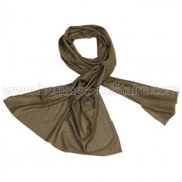 Mesh scarf OD green