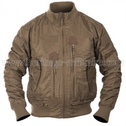 US tactical jacket dark coyote